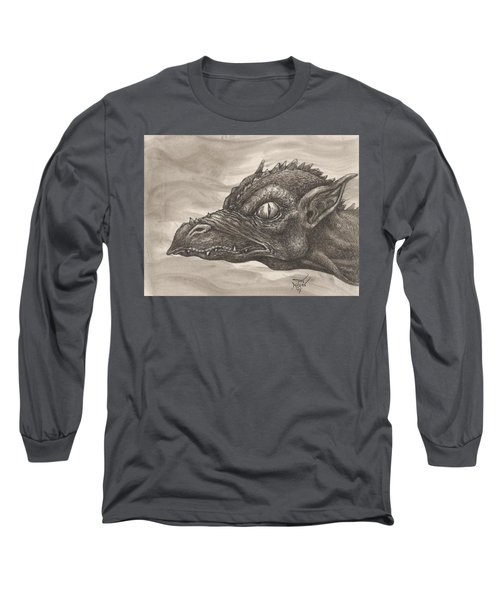 Dragon Portrait No. 2 Long Sleeve T-Shirt