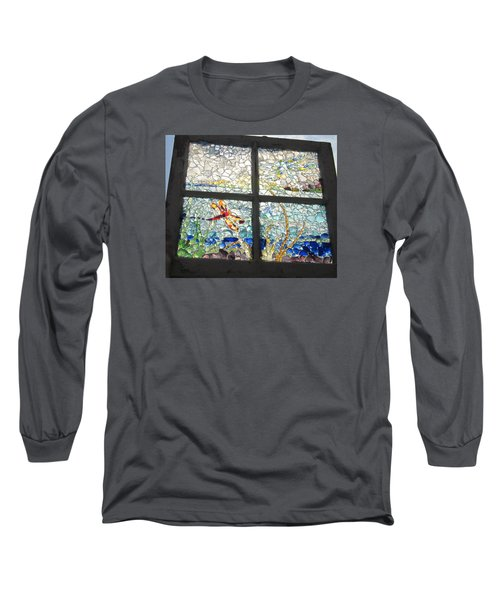 Dragonfly Dreams Long Sleeve T-Shirt by Anne Marie Brown