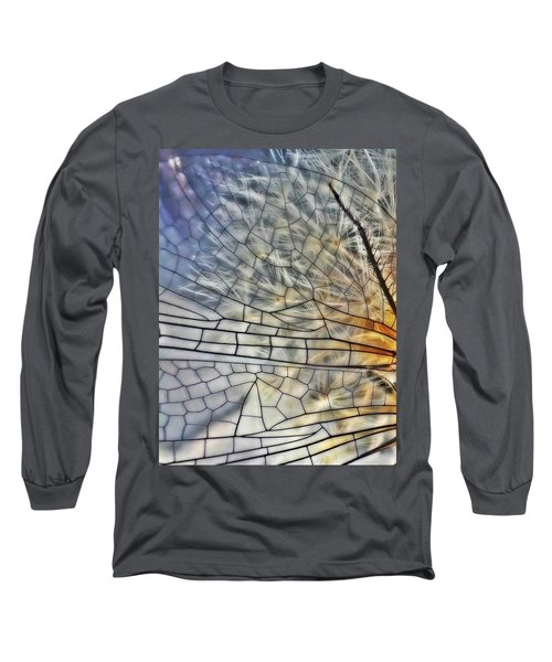 Dragonfly Wing Long Sleeve T-Shirt