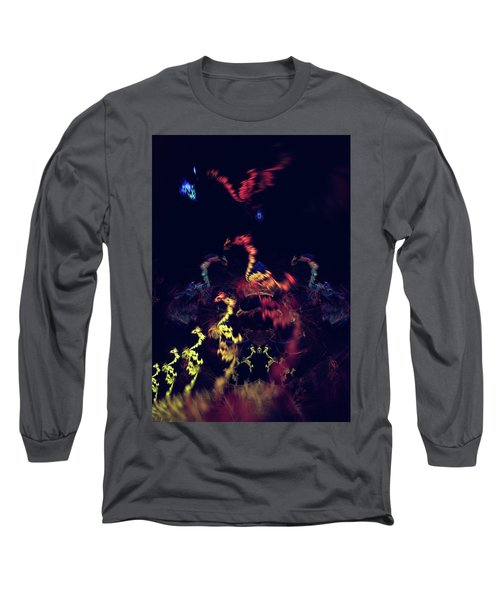 Dragons - Abstract Fantasy Art Long Sleeve T-Shirt