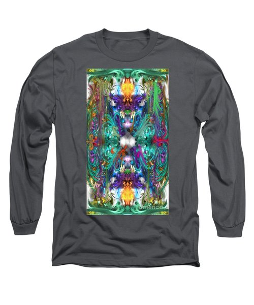 Dragons Of The Temple Long Sleeve T-Shirt