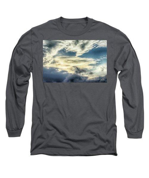 Drama Clouds Long Sleeve T-Shirt