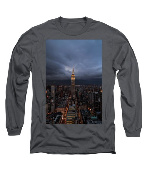 Drama In The City  Long Sleeve T-Shirt