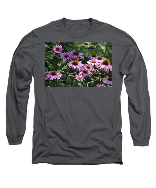 Dramatic Coneflowers Long Sleeve T-Shirt