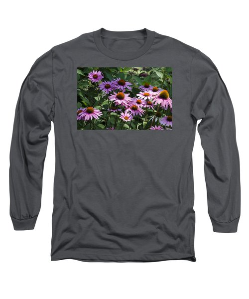 Dramatic Coneflowers Long Sleeve T-Shirt