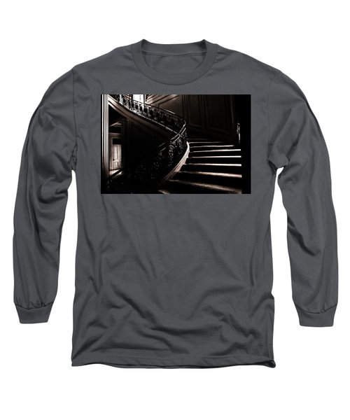 Dramatic Stairway Scene  Long Sleeve T-Shirt