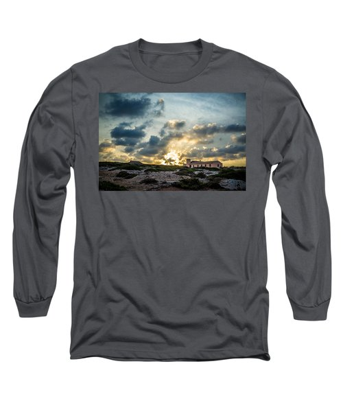 Dramatic Sunset Long Sleeve T-Shirt