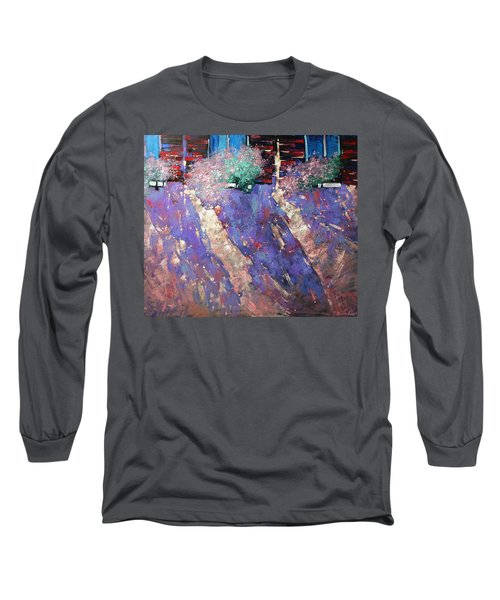 Drawn Sun. Long Sleeve T-Shirt