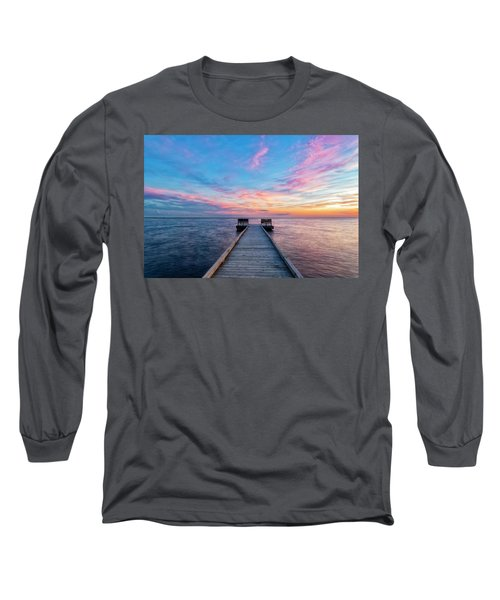 Drawn To Beauty Long Sleeve T-Shirt
