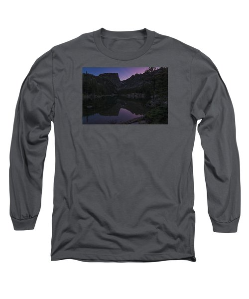 Long Sleeve T-Shirt featuring the photograph Dream Lake Reflections by Gary Lengyel