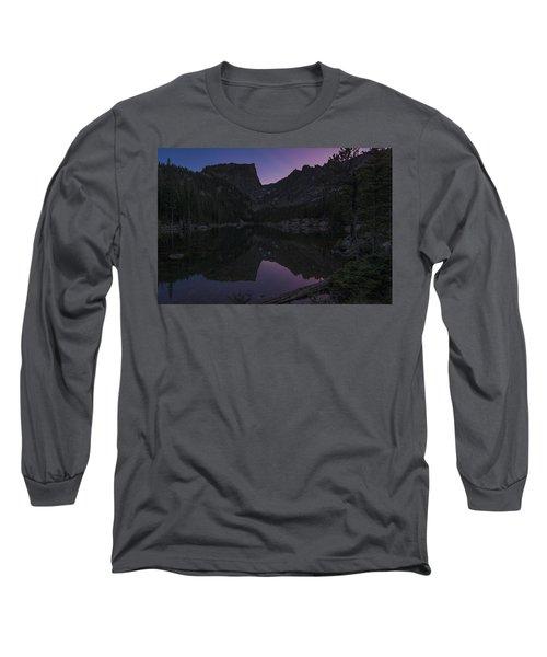 Dream Lake Reflections Long Sleeve T-Shirt
