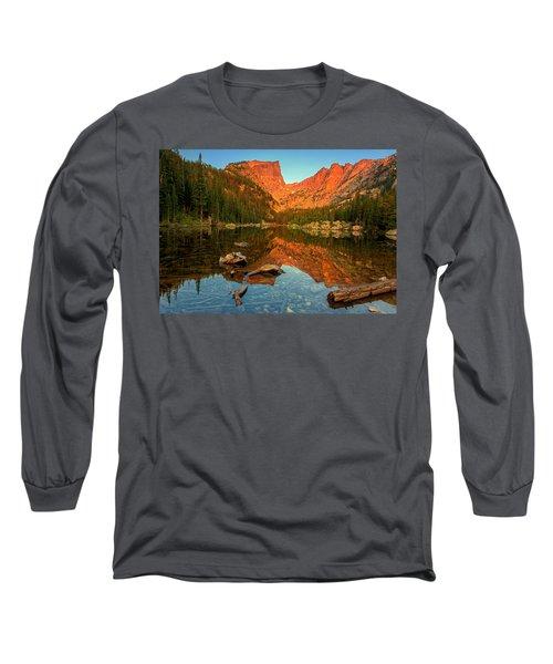 Dream Lake Sunrise Long Sleeve T-Shirt