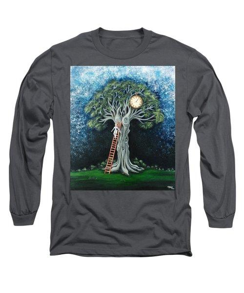 Dream Of The Clock Long Sleeve T-Shirt