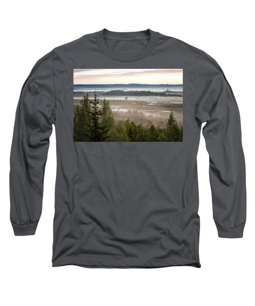 Dreamlike Landscape Long Sleeve T-Shirt
