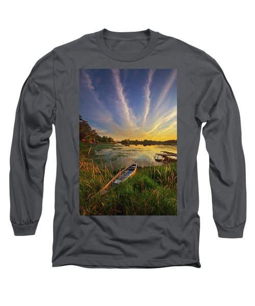 Long Sleeve T-Shirt featuring the photograph Dreams Of Dusk by Phil Koch