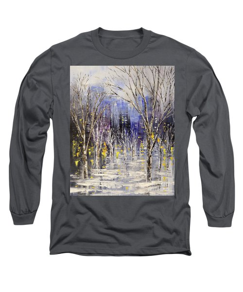 Dreamt Of Driving Long Sleeve T-Shirt by Tatiana Iliina