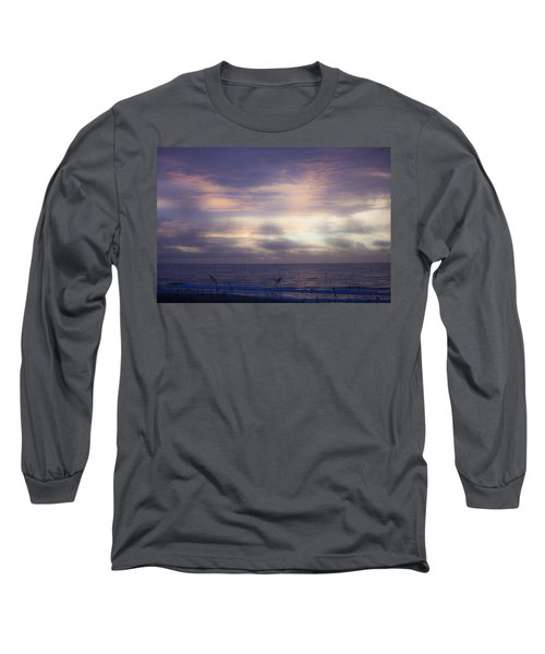 Dreamy Blue Atlantic Sunrise Long Sleeve T-Shirt