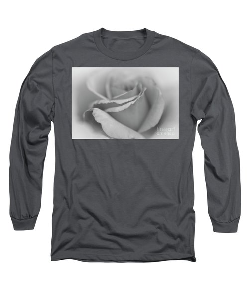 Dreamy Bw Long Sleeve T-Shirt by Judy Wolinsky