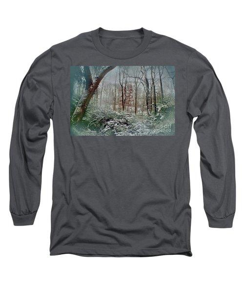 Dreamy Snow Long Sleeve T-Shirt