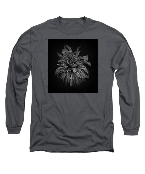 Dried Dahlia 2 Long Sleeve T-Shirt by Simone Ochrym