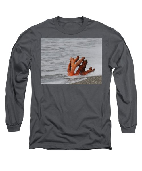 Drifting Coral Long Sleeve T-Shirt