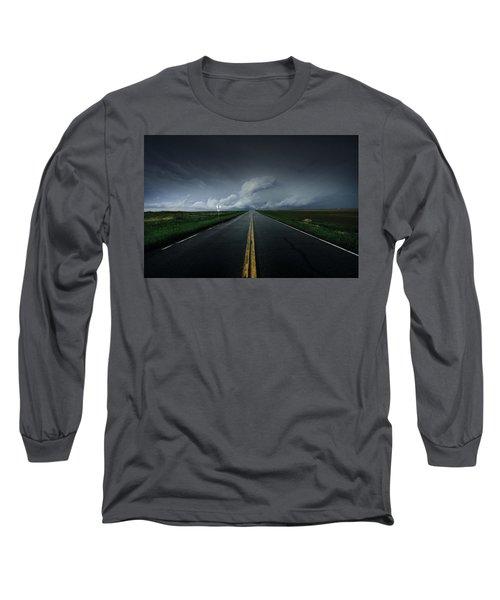 Drifting Left Of Center Long Sleeve T-Shirt