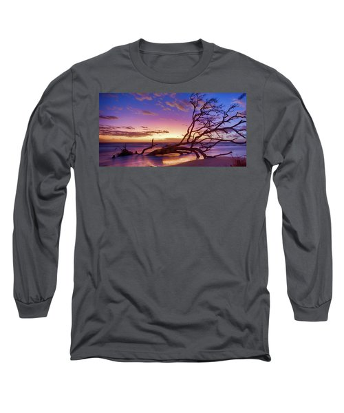 Driftwood Beach 1 Long Sleeve T-Shirt