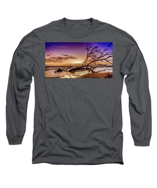 Driftwood Beach 2 Long Sleeve T-Shirt