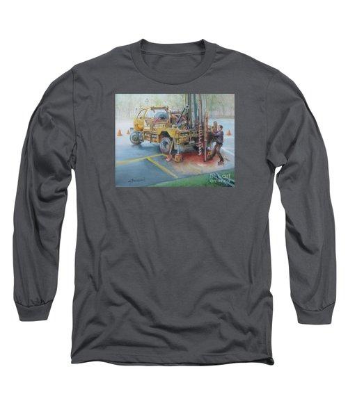 Drill,drill,drill Long Sleeve T-Shirt