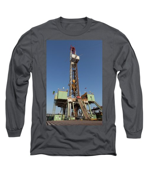 Drilling Ahead Long Sleeve T-Shirt