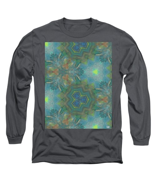 Drinking The Nectar Of Life Long Sleeve T-Shirt by Maria Watt