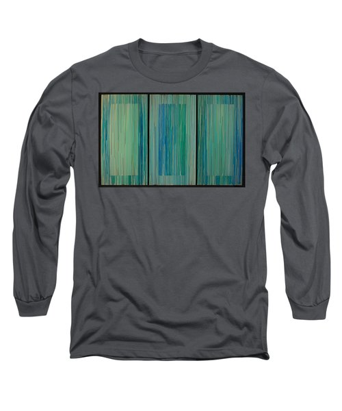 Drippings Triptych Long Sleeve T-Shirt