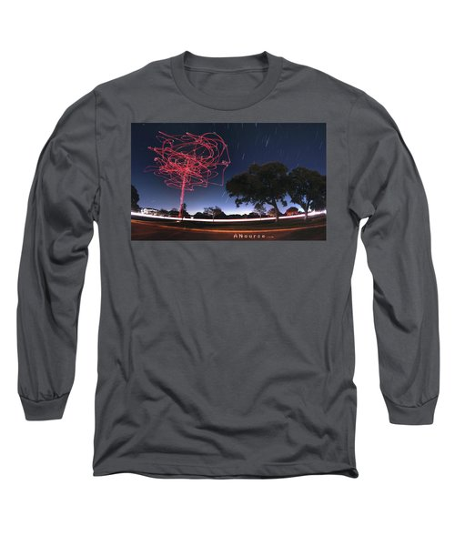 Drone Tree Long Sleeve T-Shirt by Andrew Nourse