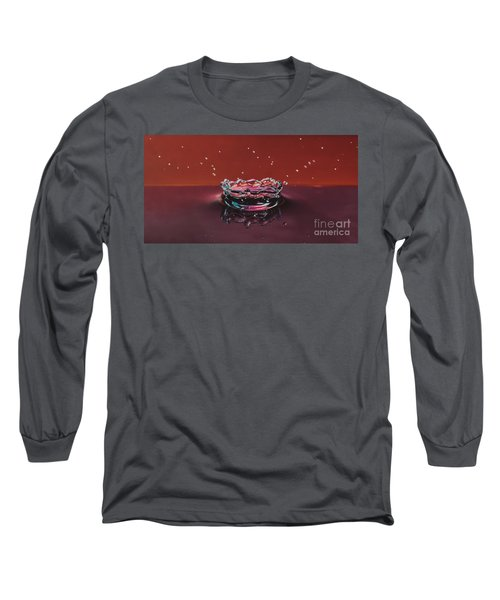 Droplet Impact 1 Long Sleeve T-Shirt