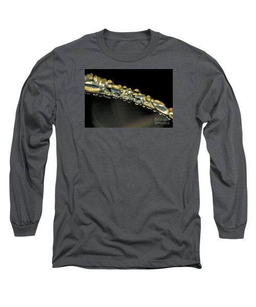 Drops On The Green Grass Long Sleeve T-Shirt