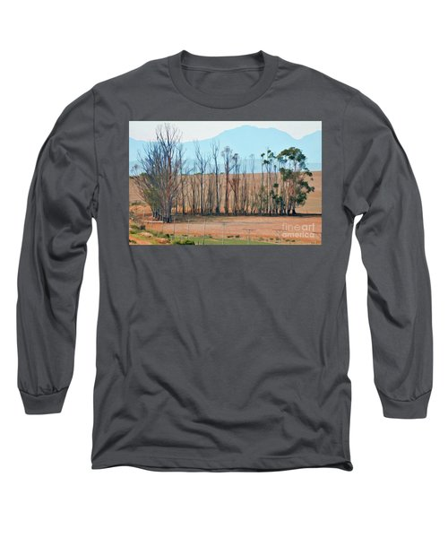 Drought-stricken South African Farmlands - 3 Of 3 Long Sleeve T-Shirt