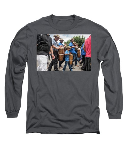 Drummer Boy In Parade Long Sleeve T-Shirt