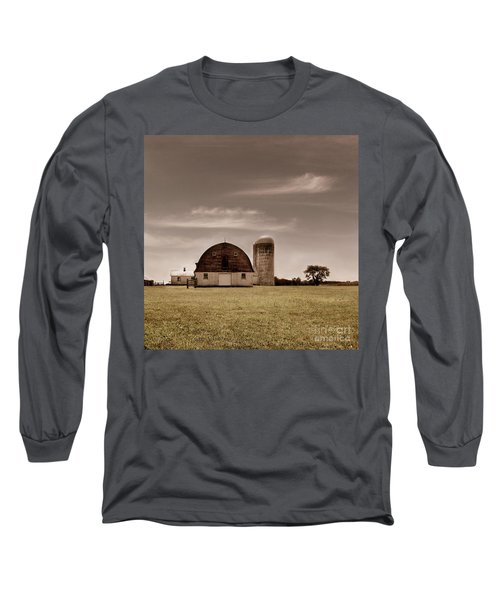 Dry Earth Crumbles Between My Fingers And I Look To The Sky For Rain Long Sleeve T-Shirt