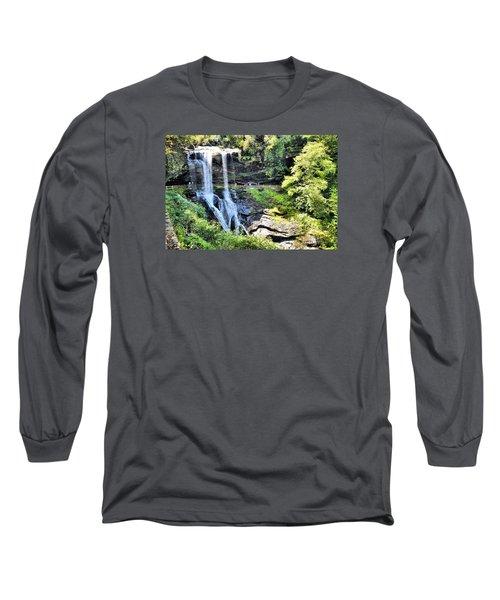 Dry Falls Of Appalachia Long Sleeve T-Shirt