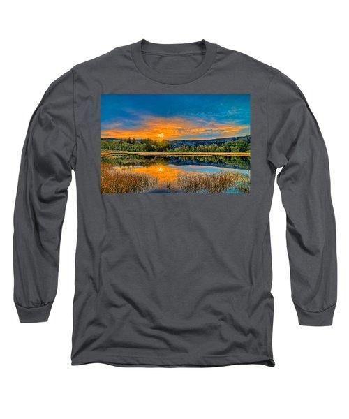Dry Lagoon Spring Morning Long Sleeve T-Shirt