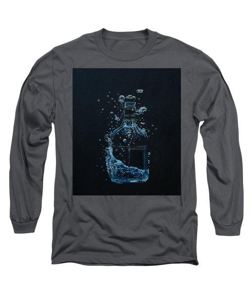Dry, Bottle Art Long Sleeve T-Shirt