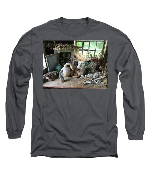 Drying Herbs And Flowers Long Sleeve T-Shirt