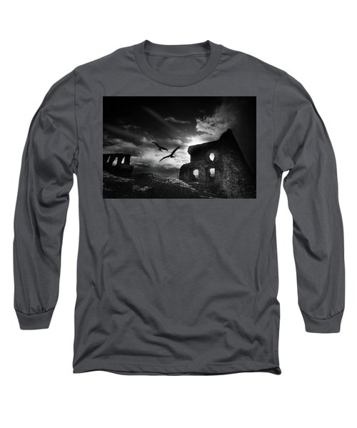 Dryslwyn Castle 3b Long Sleeve T-Shirt