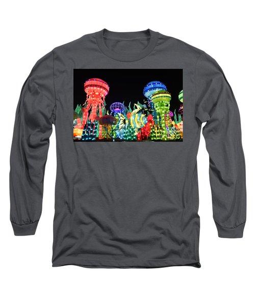 Dubai - Garden Glow Long Sleeve T-Shirt