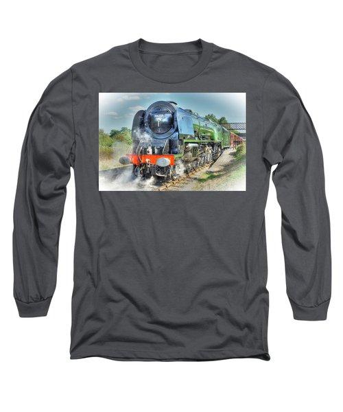 Duchess At Butterley Station Long Sleeve T-Shirt