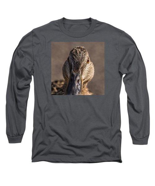 Duck Headshot Long Sleeve T-Shirt