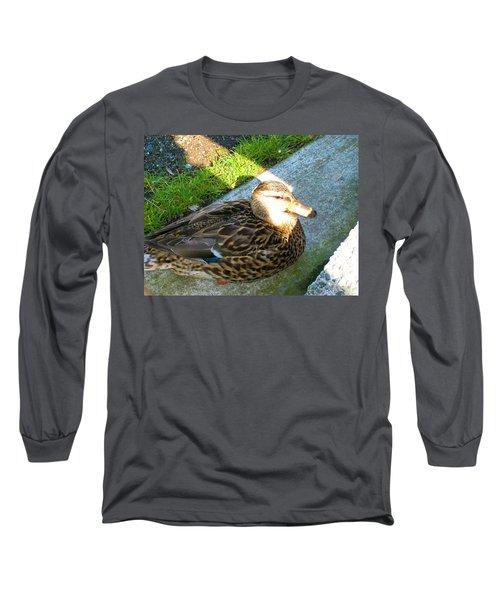 Duck Melanie Tweed In  The Sun Long Sleeve T-Shirt