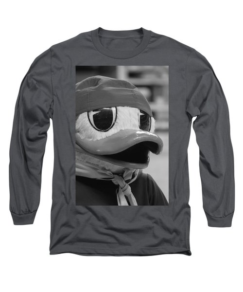 Ducking Around Long Sleeve T-Shirt by Laddie Halupa