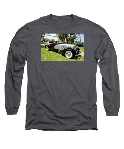 Long Sleeve T-Shirt featuring the photograph Duesenberg Vii by Michiale Schneider