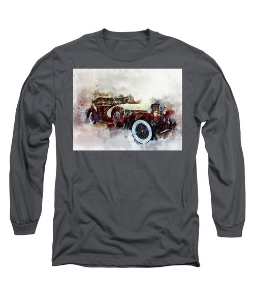 Duesenberg Watercolor Long Sleeve T-Shirt